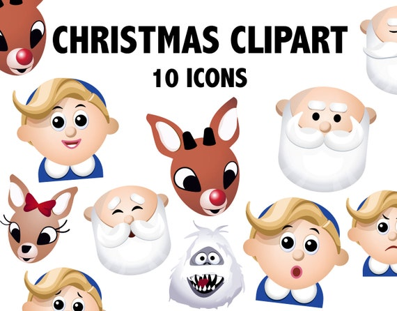 15++ Christmas Cartoon Characters