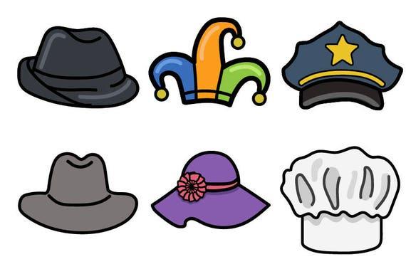 Hut CLIPART Partei-Hut-Clip-Art Kostüm Cliparts Hut | Etsy