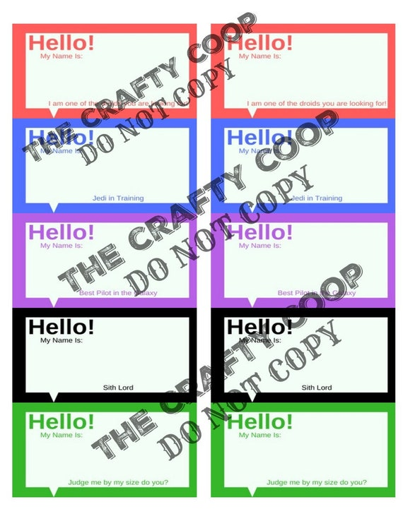 This is a picture of Name Tag Template Printable throughout doctor
