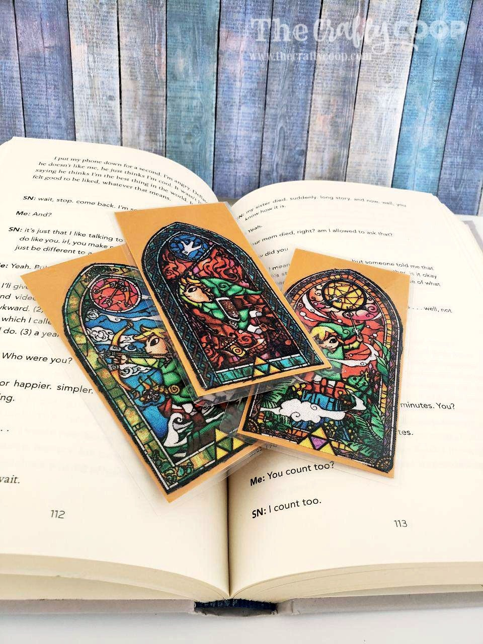 Zelda Themed Upcycled Bookmark, Book Lovers Gift, Party Favor, Geek/Video  Game/Gamer Gift