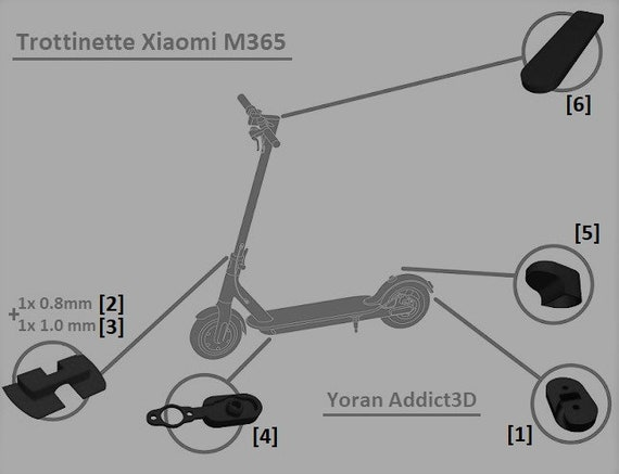 3D M365 scooter Xiaomi M365, M187 pieces accessories Scooter Xiaomi M Wiring Diagram on