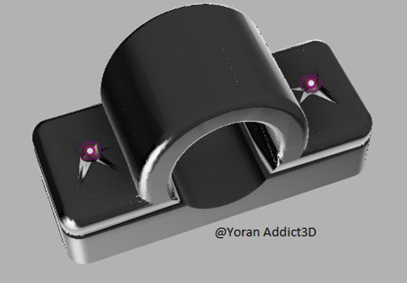 Fastening / holder for battery for scootering xiaomi m365 satchel