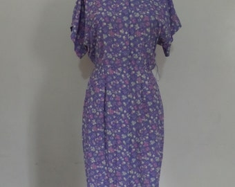 Lavender Bliss Dress | Vintage 80's