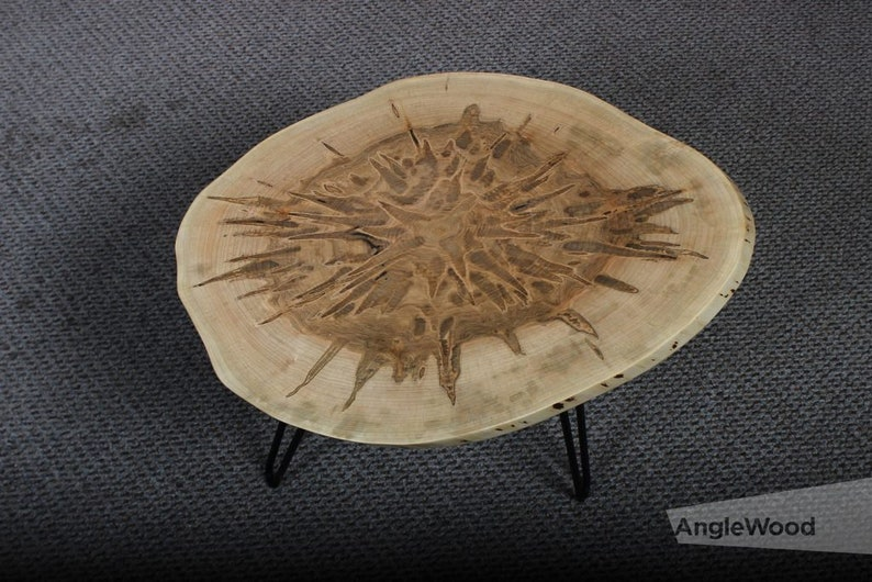 Ambrosia Maple Live Edge Coffee Tables
