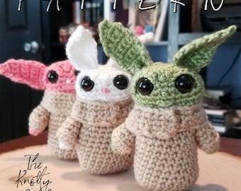 Crochet Amigurumi Pattern | Burlap Bunny | PDF instant download