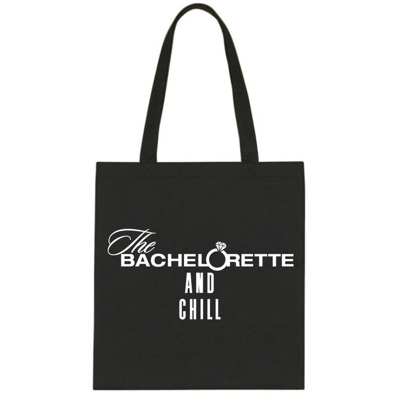 The Bachelorette The Bachelorette and Chill Cotton Tote Bag