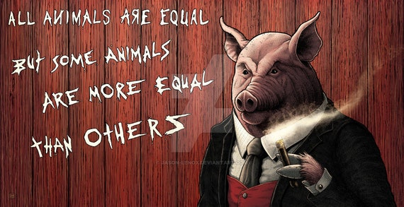Animal Farm Napoleon Print | Etsy