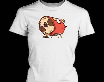 Pug n Chips Women's T-Shirt