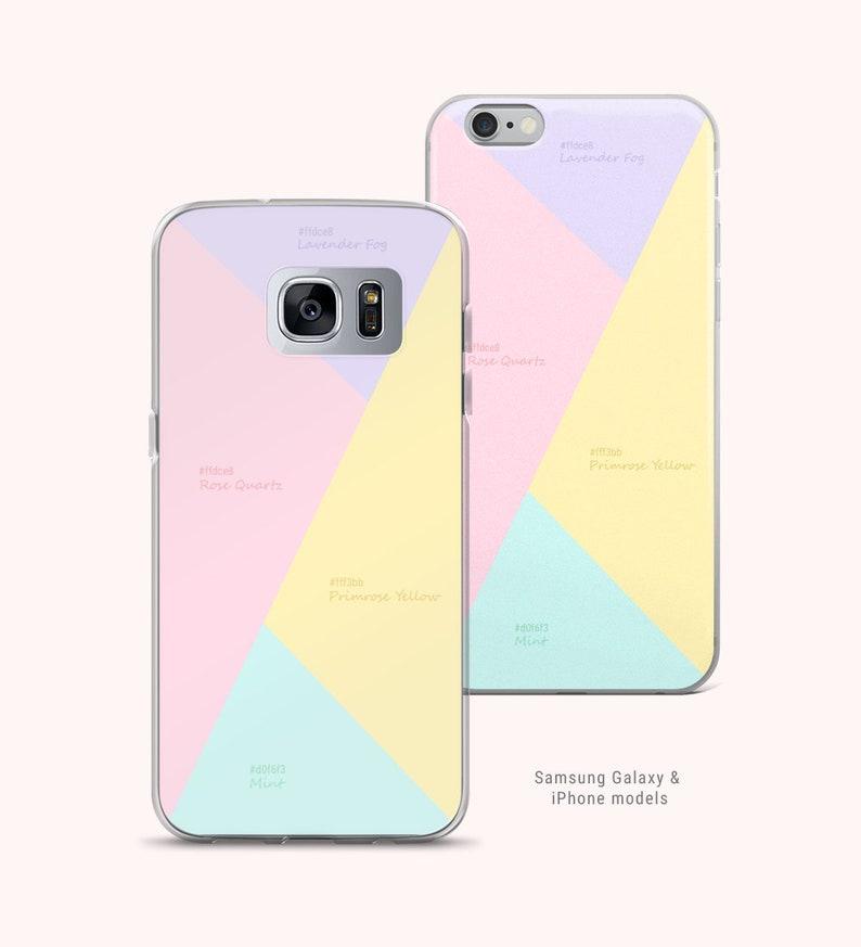 Couleur Pastel Artiste Code Hexadécimal Abstrait Iphone Etsy
