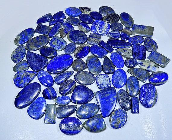 AAA++ Lapis Lazuli Loose Gemstone Best Supply For Jewellery. Amazing Lapis Lazuli Cabochons Natural Lapis Lazuli Gemstone