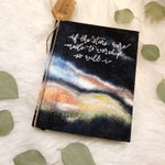 Hand Painted | Lovely Galaxies Theme | NIV Journaling Bible