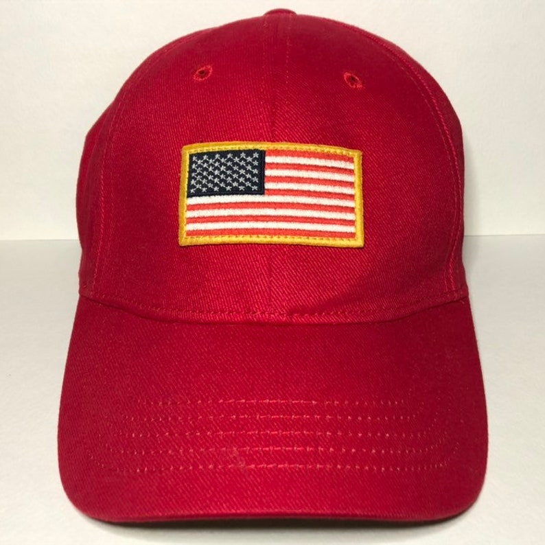 American Flag Patch Hat by American Eagle Outfitters L-XL