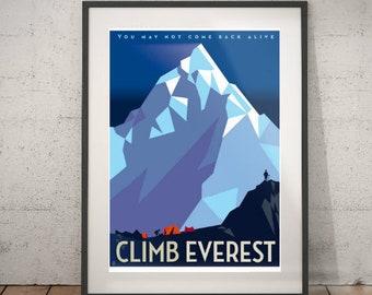 Kletterausrüstung Zermatt : Klettern poster etsy