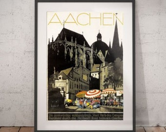 TW81 Vintage 1930 Germany Black Forest German Travel Poster Re-Print A1//A2//A3