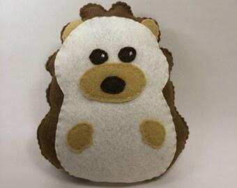 Felt Stuffed Porcupine Stuffed Animal Plushie