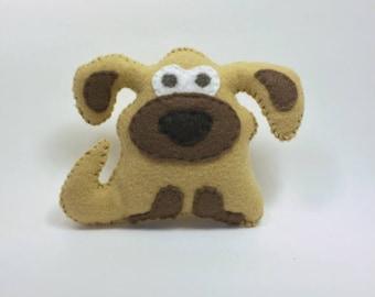 Felt Stuffed Soft Puppy Plushie