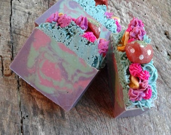 Fairy garden soap 6-7 oz.