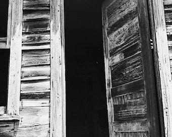 Door to Abandoned House -- Luray, Kansas