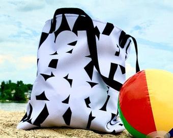 Alphabet Beach Bag
