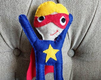 Superhero Toy Pillow