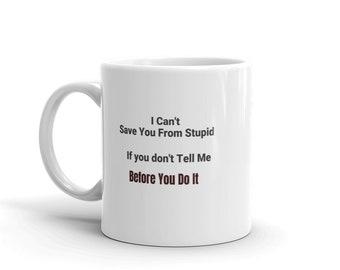 11 oz. Personalized Whimsical Ceramic Accountant Mug
