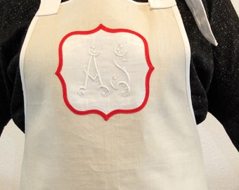 Vintage apron - mother's day