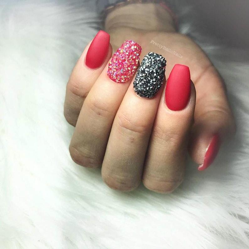 8a4da6345 Swarovski Crystal Pixie stones gems crystals charms beads 3D | Etsy