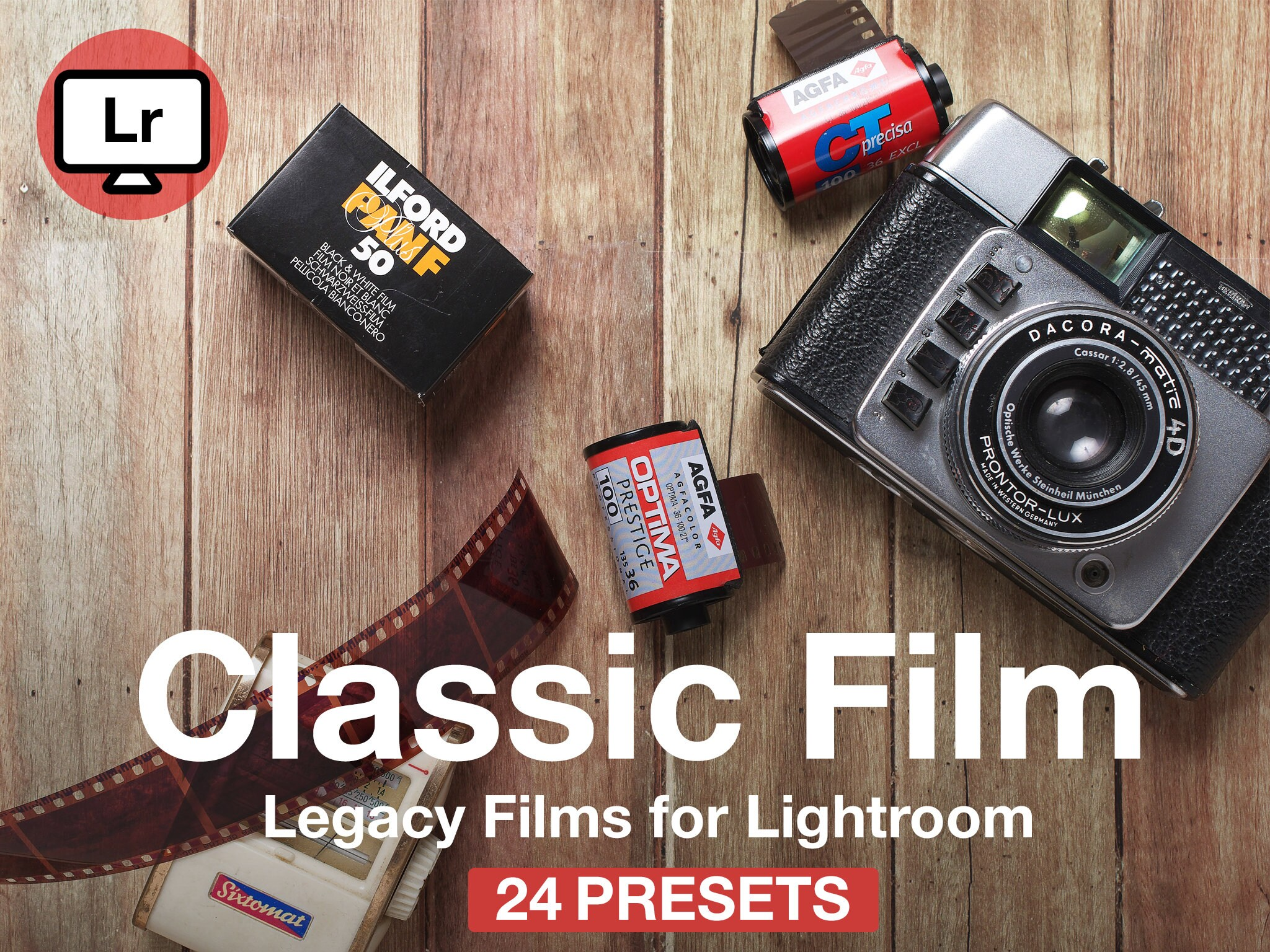 Film Emulation Lightroom Presets: Kodak, Fuji, Porta Presets for Lightroom,  Modern Portrait Presets, Film Presets, Grainy Presets