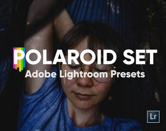 Polaroid Bundle Presets for Adobe Lightroom, Lightroom Presets, Polaroid Film, Polaroid Frames, Photo Editing, Photoshop, VSCOcam, Editing