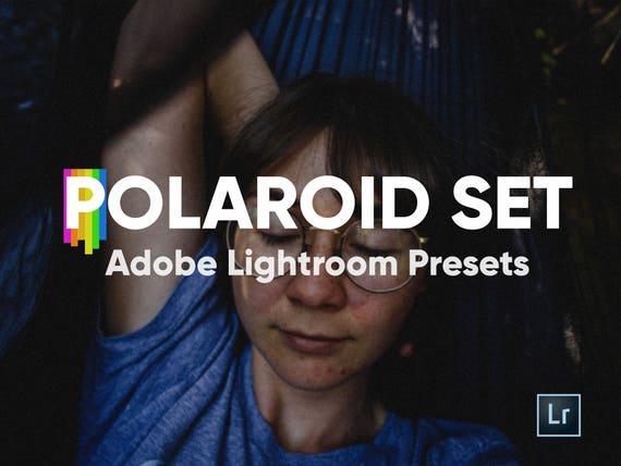 Polaroid Bundle Presets for Adobe Lightroom, Lightroom Presets, Polaroid  Film, Polaroid Frames, Photo Editing, Photoshop, VSCOcam, Editing