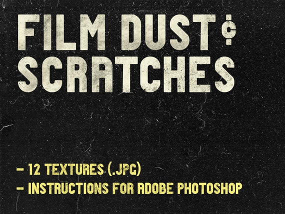 Film Dust and Scratches ADOBE PHOTOSHOP Texture Effect for Photograps, Film  Emulation, Film Grain, Analogue Photography
