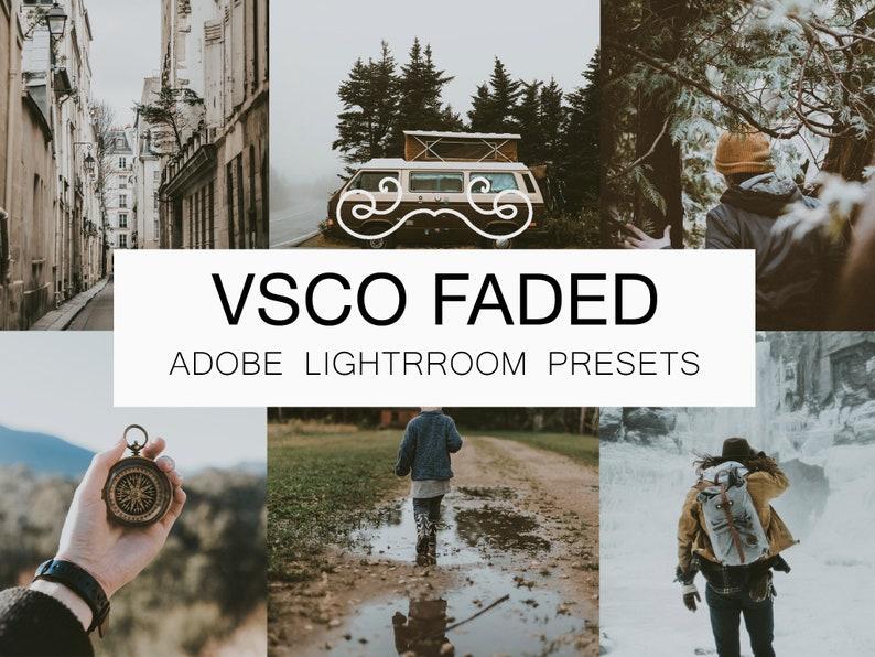 VSCOcam Faded Lightroom Preset Bundle Modern Presets image 0