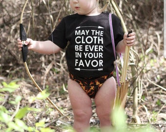 MAY THE CLOTH, Hunger Games cloth diaper fan