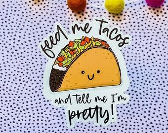 Feed Me Tacos Needlepoint Canvas