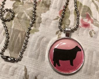 Show cow necklace