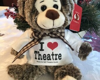 I Love Theatre Teddy Bear