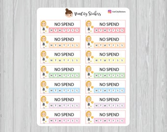 no spend tracker etsy