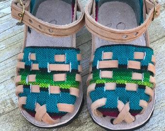 toddler huaraches, mexican sandals, summer sandals, spring sandals, sarape sandals, baby sandals
