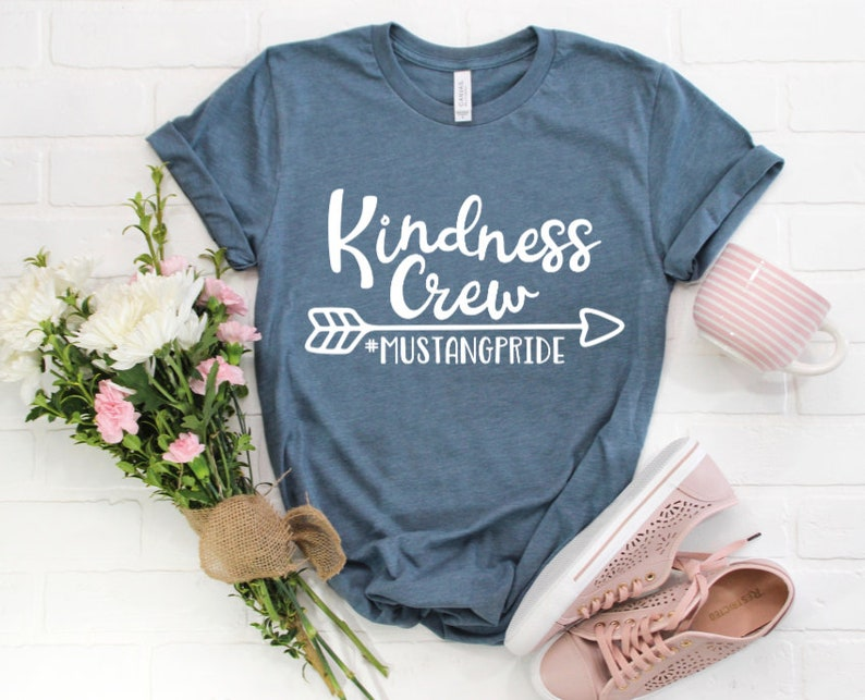 7f6c04c4f Custom Kindness Crew Shirt / Kindness Shirts / Teacher Shirts | Etsy