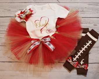 online store 89221 7d117 Chiefs outfit   Etsy