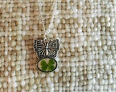 Lucky butterfly necklace...