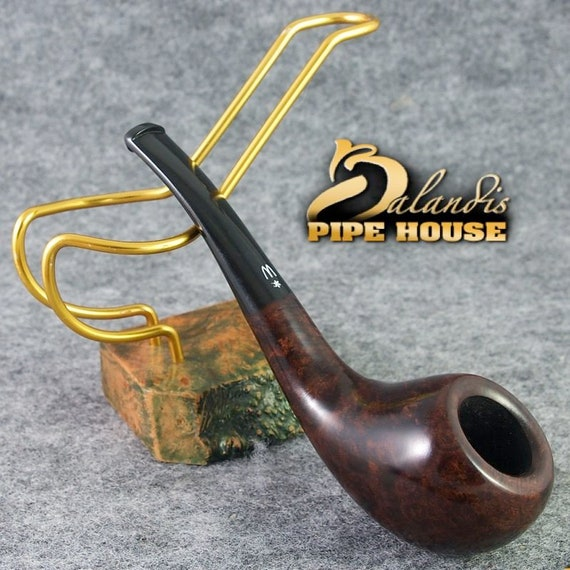 ORIGINAL smoking pipe handmade in POLAND by master H.WOROBIEC nr.112 Brana Brown
