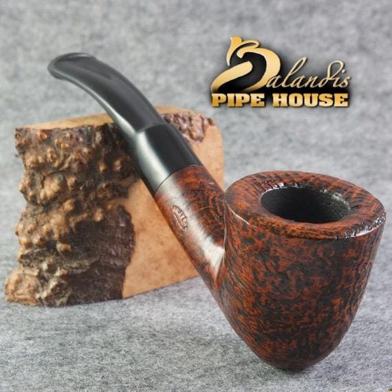 """Balandis Original Briar Wood Handmade Tobacco Smoking Pipe DUBLIN """" COLM """" COMO"""