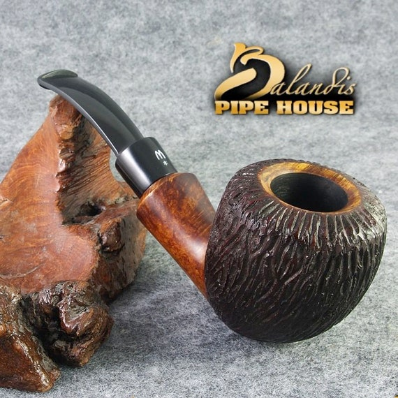 ORIGINAL smoking pipe handmade in POLAND by master H.WOROBIEC nr.141 Alfredo Orso