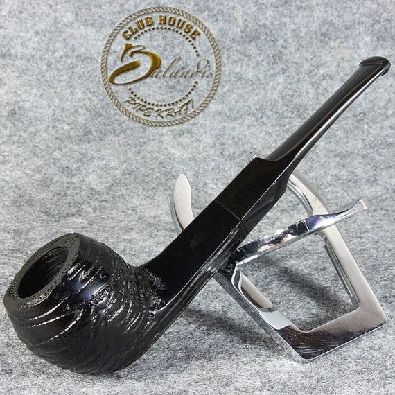 BALANDIS Exclusive Hand Made & Smooth Briar wood smoking pipe * SAILOR * black