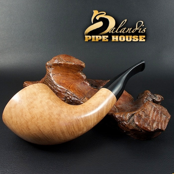 ORIGINAL smoking pipe handmade in POLAND by master H.WOROBIEC nr.144  natural Prima