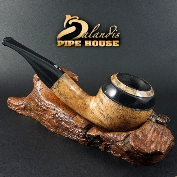 ORIGINAL smoking pipe handmade in POLAND by master H.WOROBIEC nr.134 Emerson Ben