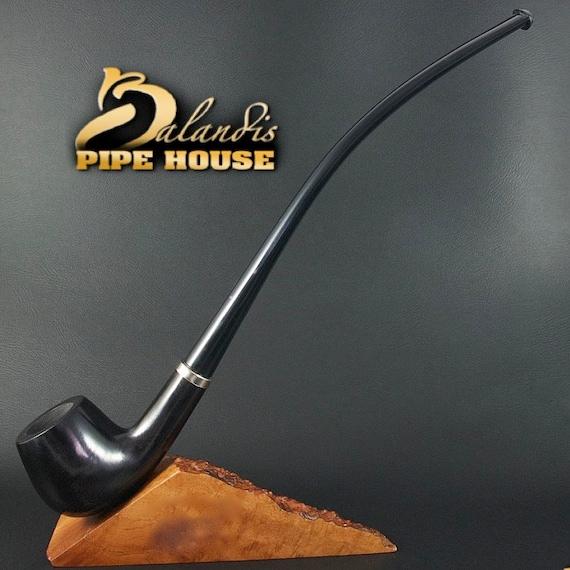 "BALANDIS Original Handmade Pear Wood Tobacco SMOKING Pipe ""CHURCHWARDEN"" Morgul"