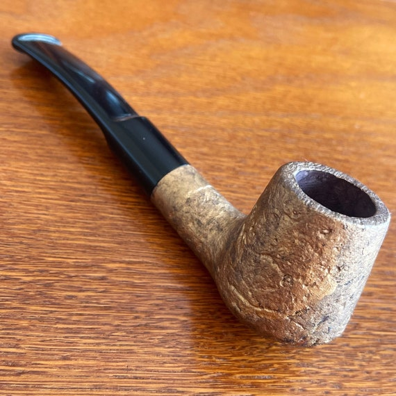 "Original D.BALANDIS Briar wood Handmade Tobacco Smoking pipe "" Albeo Orro "" UNIQUE"
