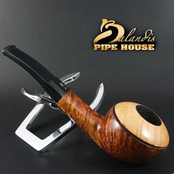 OUTSTANDING H.WOROBIEC Nr 148 Briar Wood Handmade Smoking Pipe TOMATO Naturalia